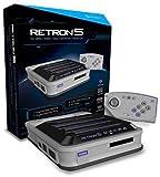 Hyperkin - Consola Retron 5, Color Gris + Mando Bluetooth