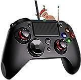 【Versión Nueva】PICTEK Mando PS4 con Cable, Joysticks con Doble Vibracion...