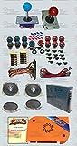 DIY Arcade Bundles kit With Pandora box 5 JAMMA version VGA & HDMI Long shaft...