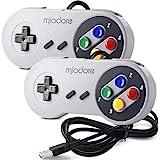 miadore 2X Classic USB Gamepad Retro Controlador USB de Juegos SNES para...