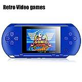 Consolas De Juegos Portátiles, SZUHAJ 2.7 'LCD 16 Bit Reproductor De Video...