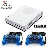 Consola de videojuegos retro,HDMI Video incorporado 600 juegos clásicos con...