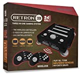 Hyperkin - Consola Retron 3 Negro + 2 Mandos Wireless (SNES, NES, Genesis)