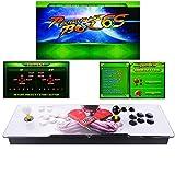 TAPDRA Máquina de vídeo clásica, 2 jugadores Pandora Box 6S Home Arcade...