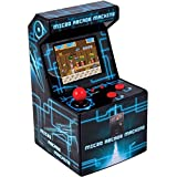 ITAL Mini Recreativa Arcade (Azul) / Mini Consola Portátil De Diseño Retro Con...