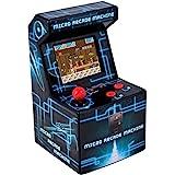 ITAL Mini Recreativa Arcade (Azul) / Mini Consola Portátil De Diseño Retro Con...