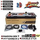 2177 en 1 3D Pandora's Key 7 Box Consola de juegos arcade retro, 1080P Arcade...