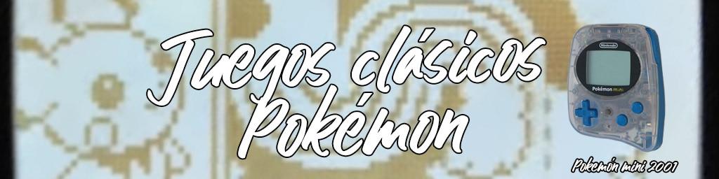 juegos clasicos pokemon