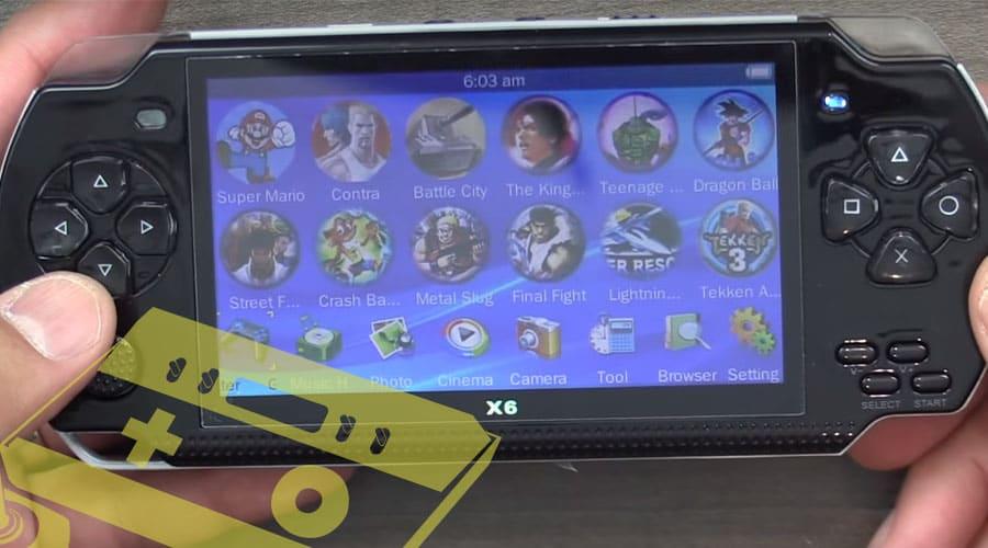 consola arcade portatil