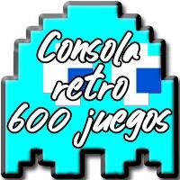 Consola retro 600 juegos